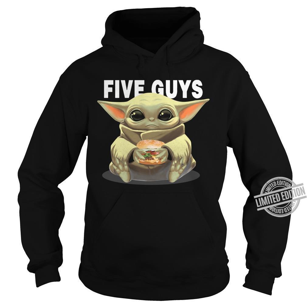 Baby Yoda And Five Guys Shirt