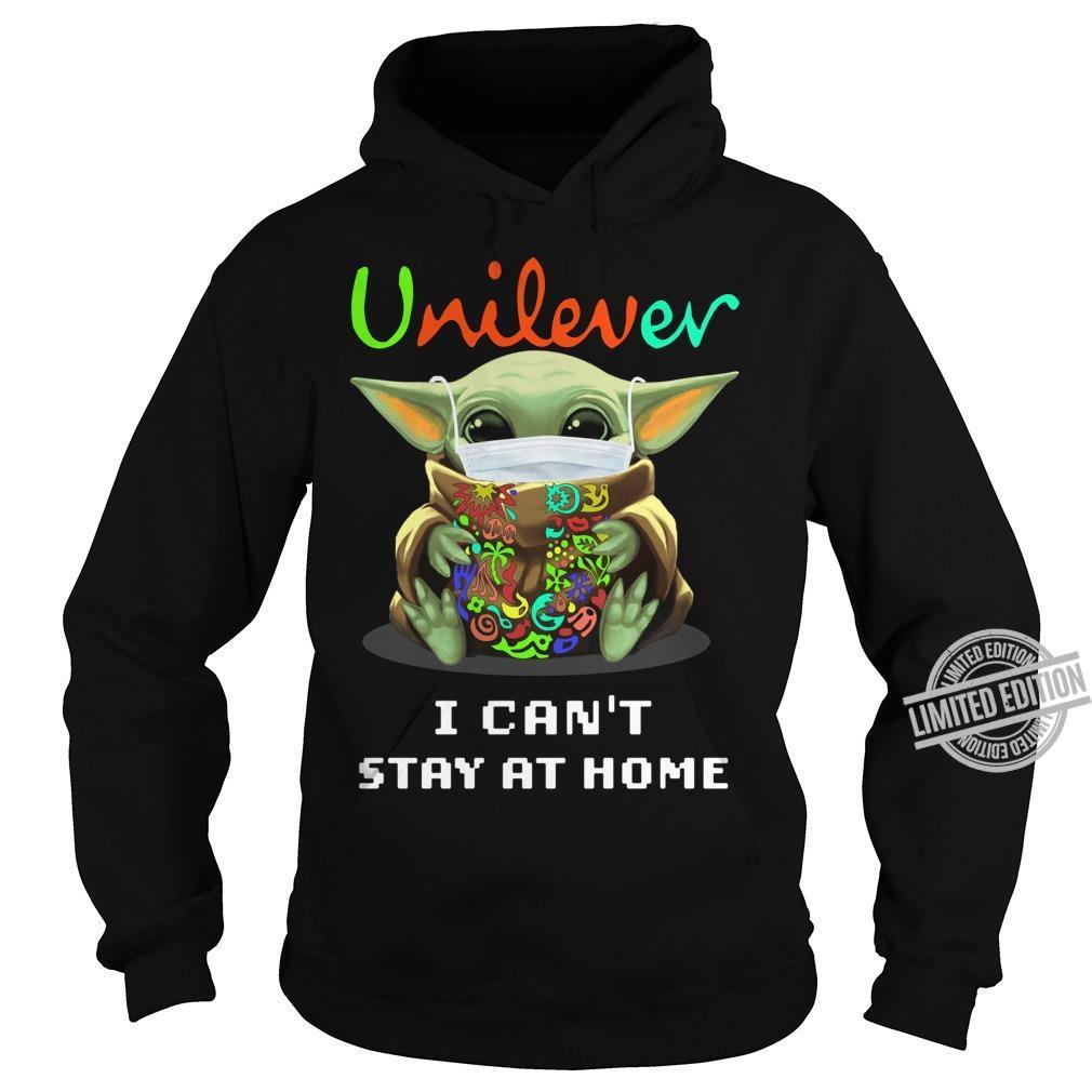 Baby Yoda Unilever I Can't Stay At Home Shirt