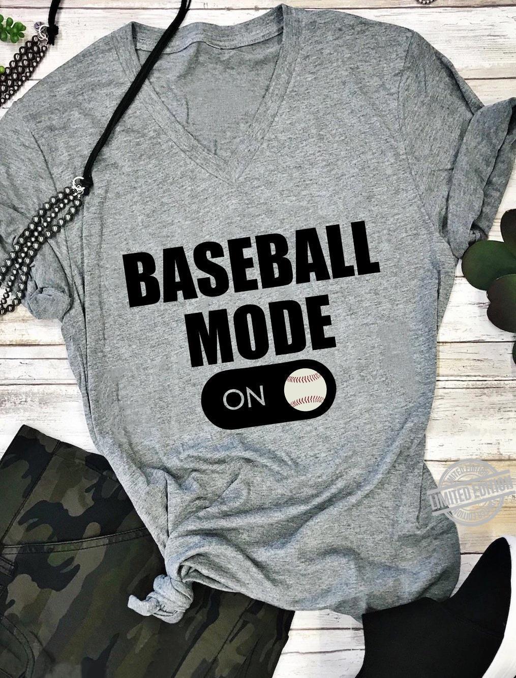 Baseball Mode Shirt