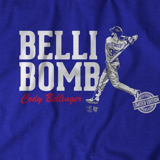 Belli Bomb Cody Bellinger Shirt