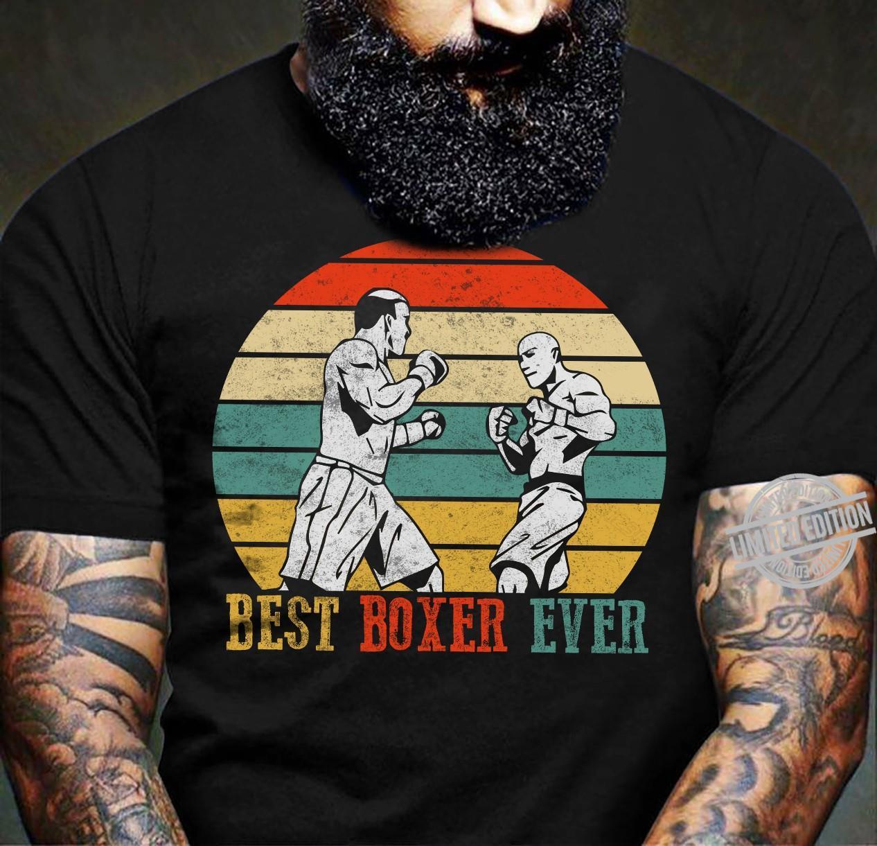 Best Boxer Ever Shirt