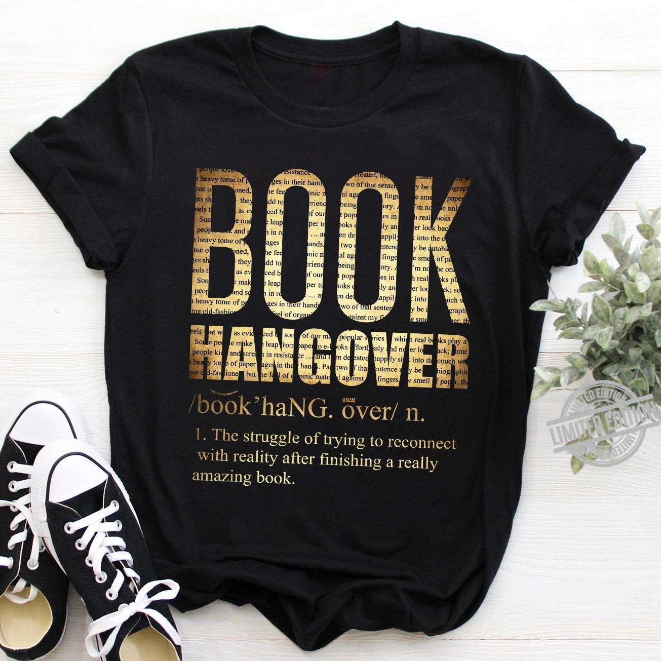 Book Hangover Shirt