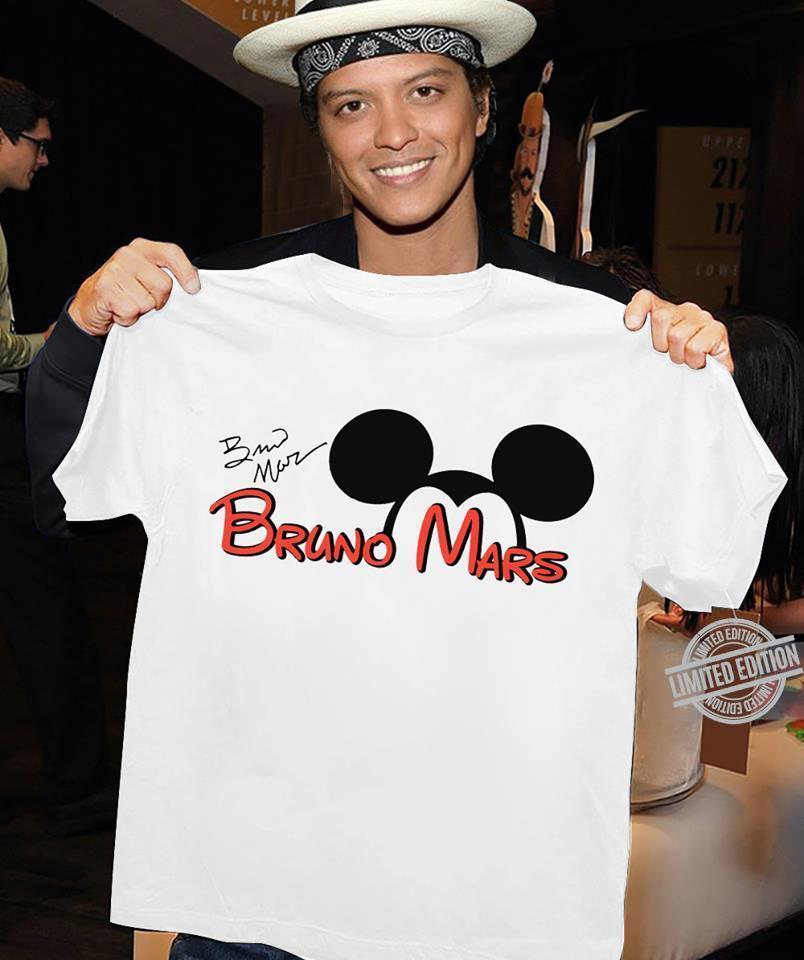 Bruno Mars And Mickey Shirt