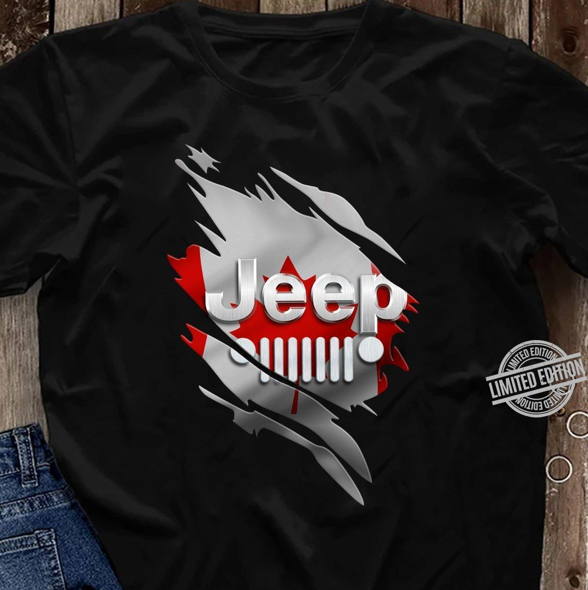 Canada Jeep Shirt