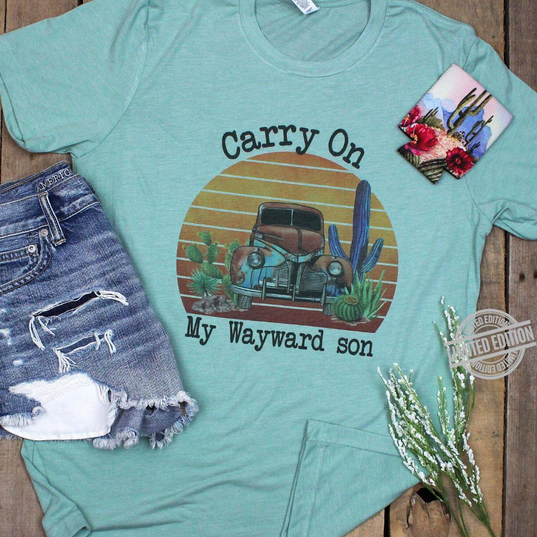 Carry On My Wayward Son Shirt