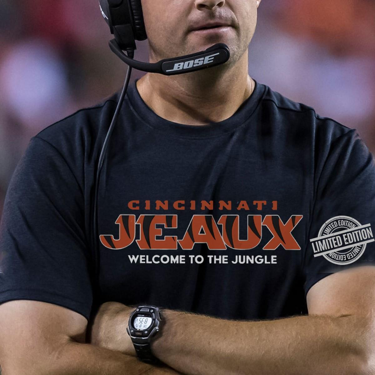 Cincinnati Jeaux Welcome To The Jungle Shirt