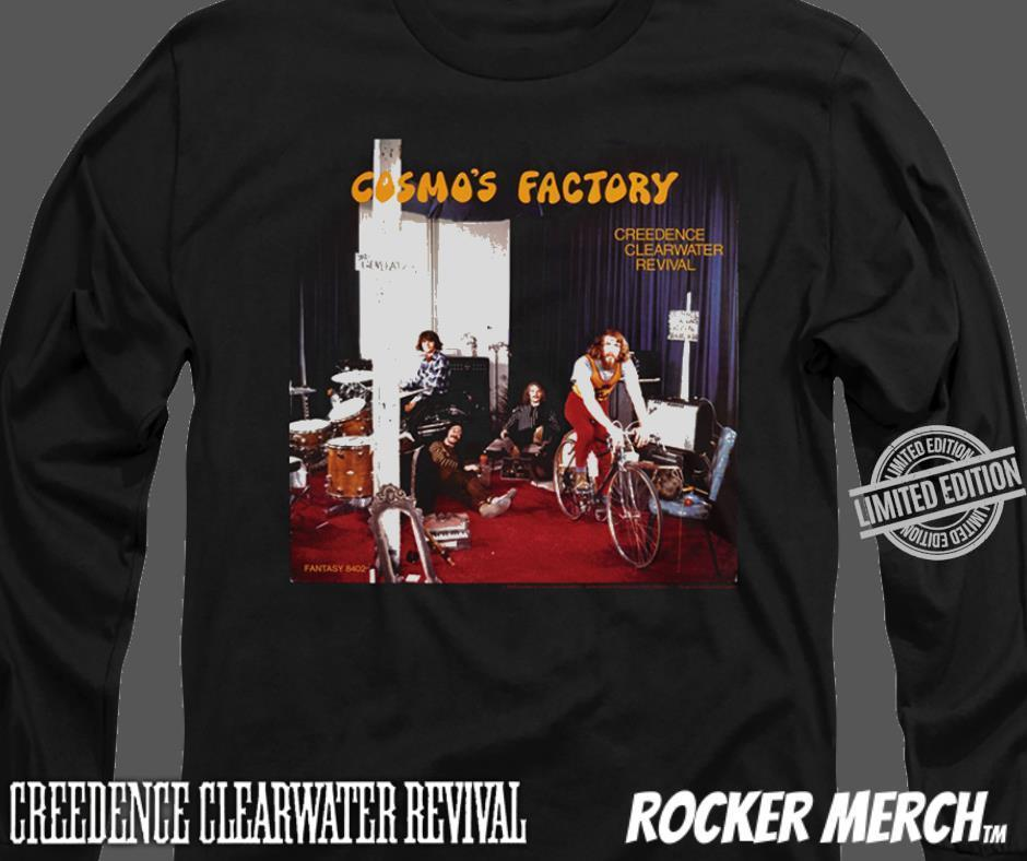 Cosmo's Factory Creedence Clearwater Revival Shirt