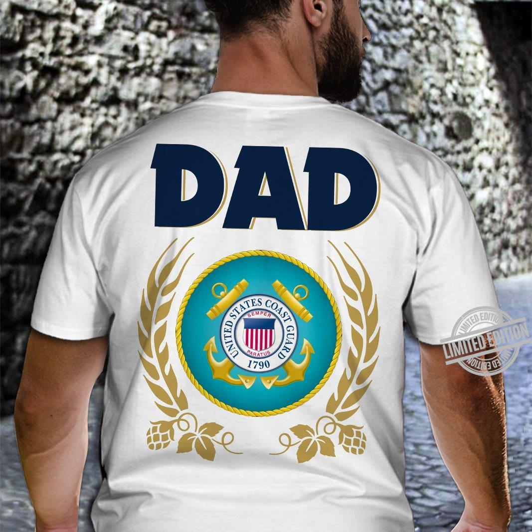 Dad United States Coast Guard 1790 Shirt