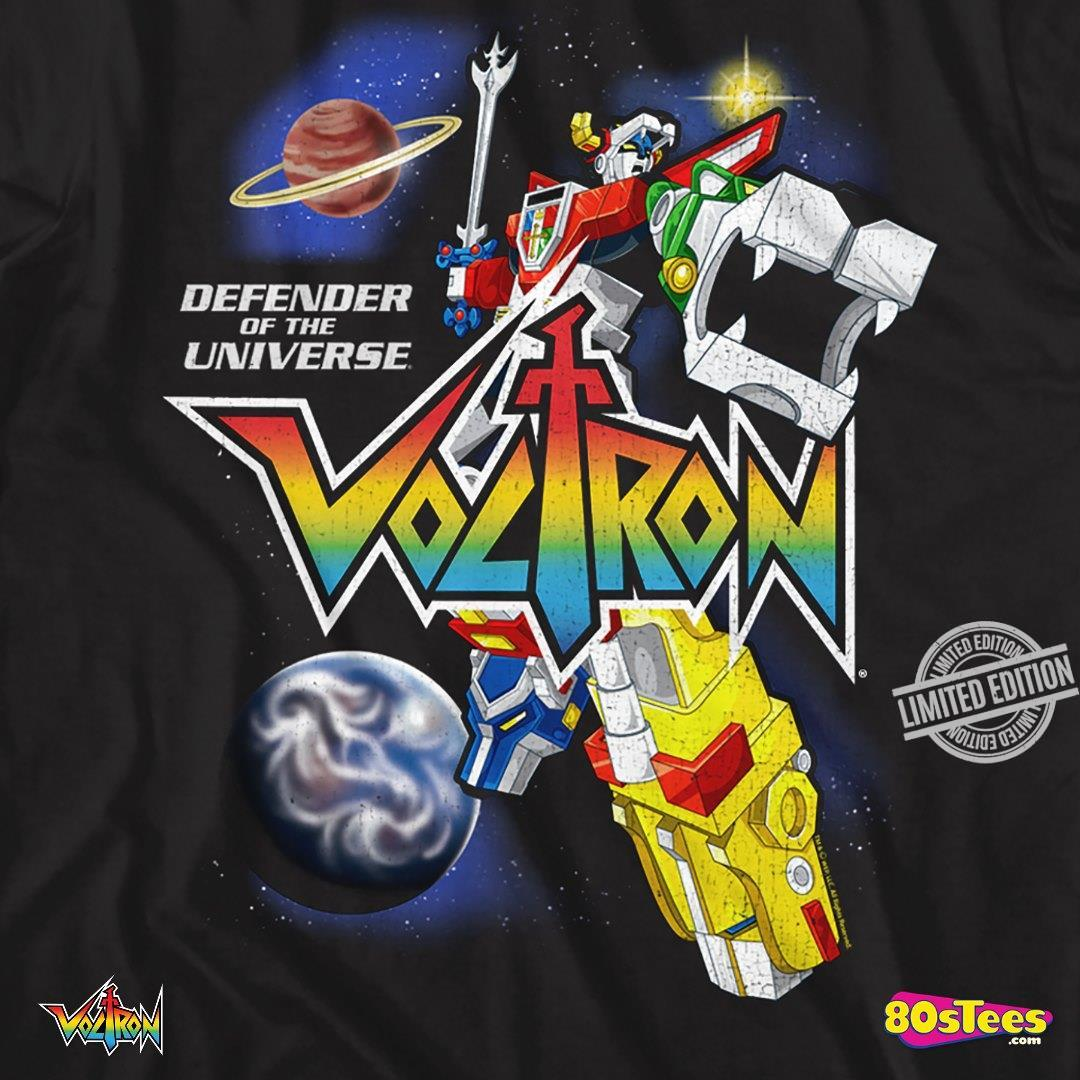 Defender Of The Universe Voltron Shirt