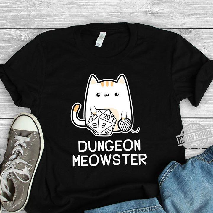 Dungeon Meowster Shirt
