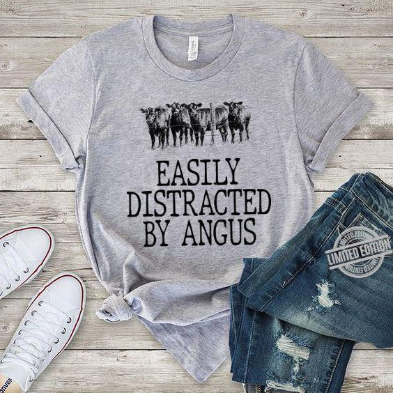 Easily Distracted By Angus Shirt