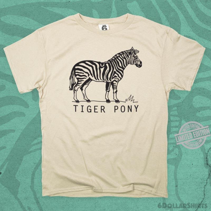Funny Tiger Pony Shirt