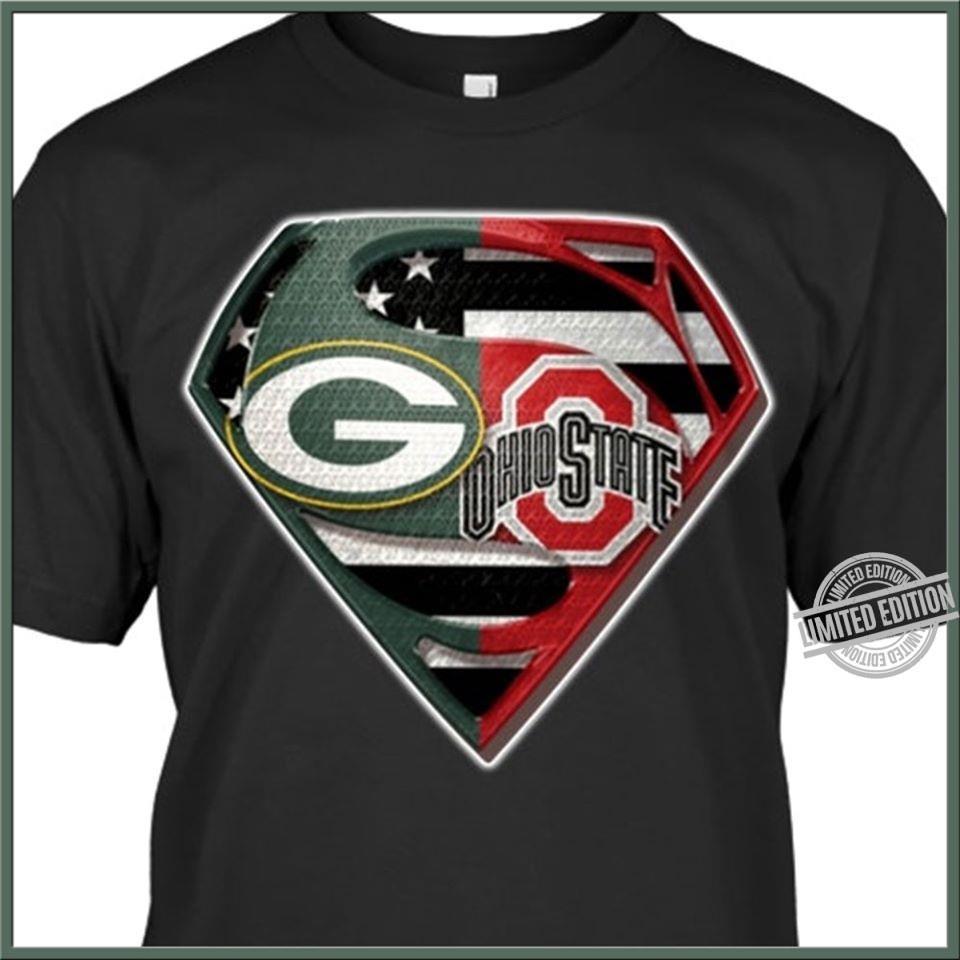 Green Bay Packer And Ohio State Shirt
